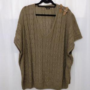 Massimo Dutti cable knit sweater